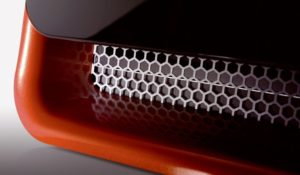 Automotive Grille - Red